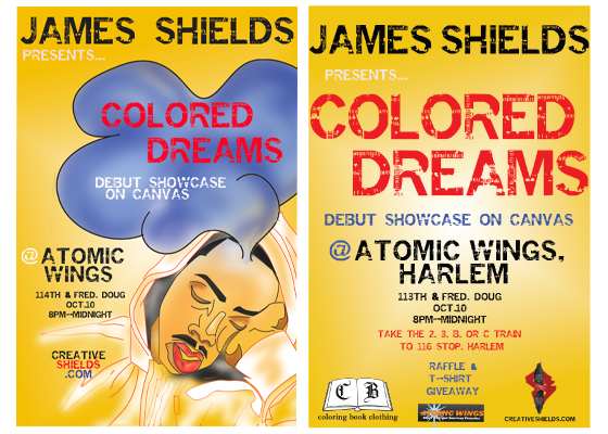 colored dreams flyer