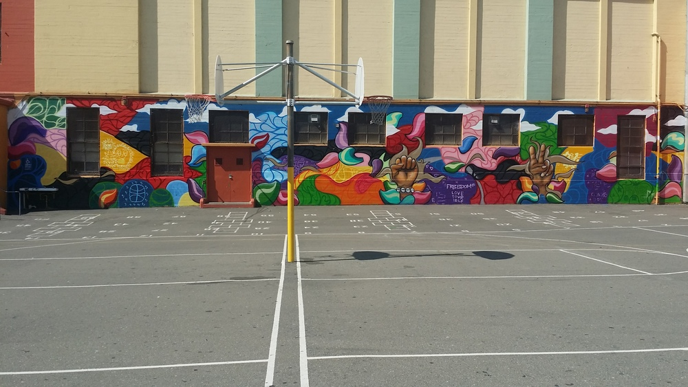 Oakland Peace Camp Mural