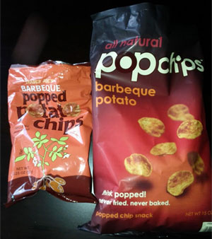 Image of Trader Joes and popchips chips
