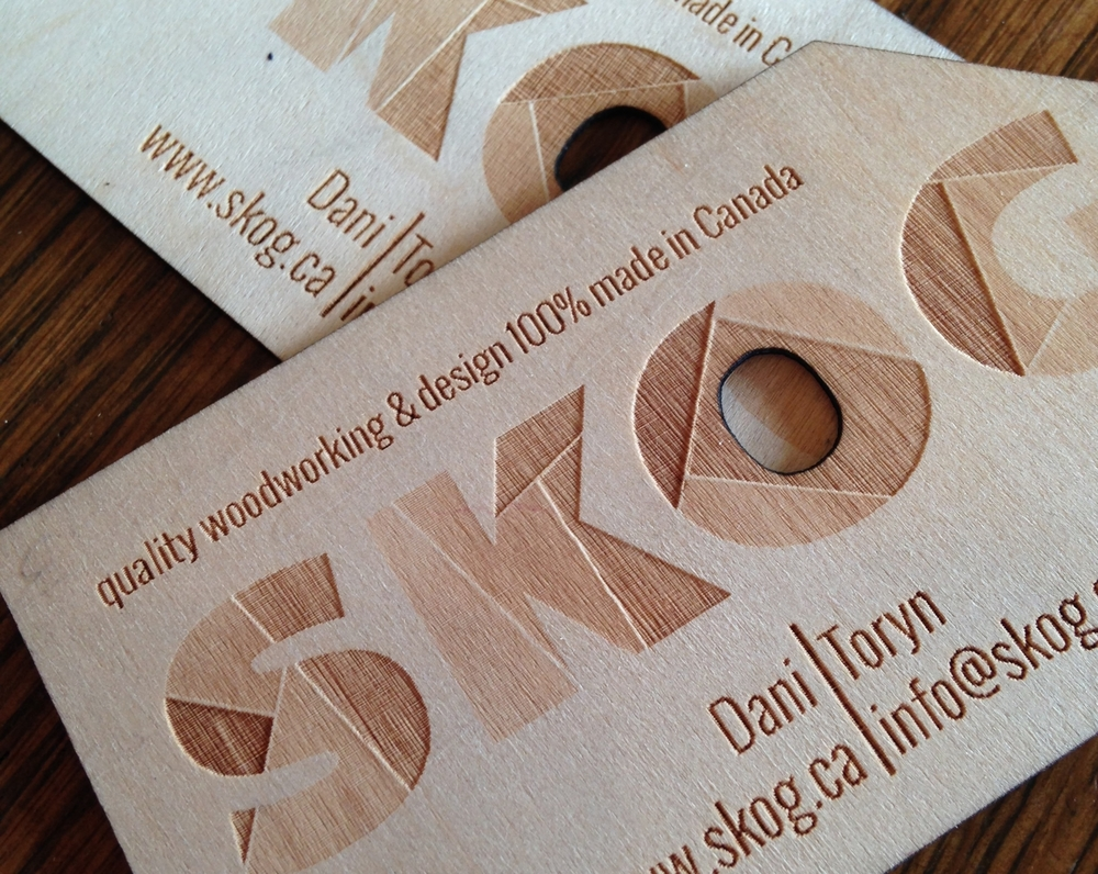 Business cards skog looking for business cards that offer a truly wow factor these incredible wood or acrylic cards are just the thing to make people stop and take note magicingreecefo Image collections