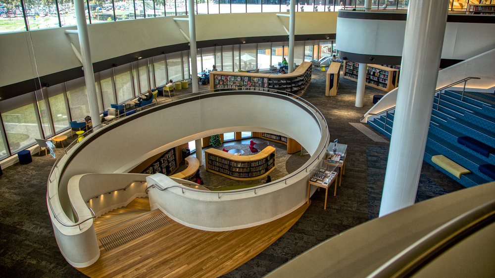 Library at Bunjil Place, Narre Warren