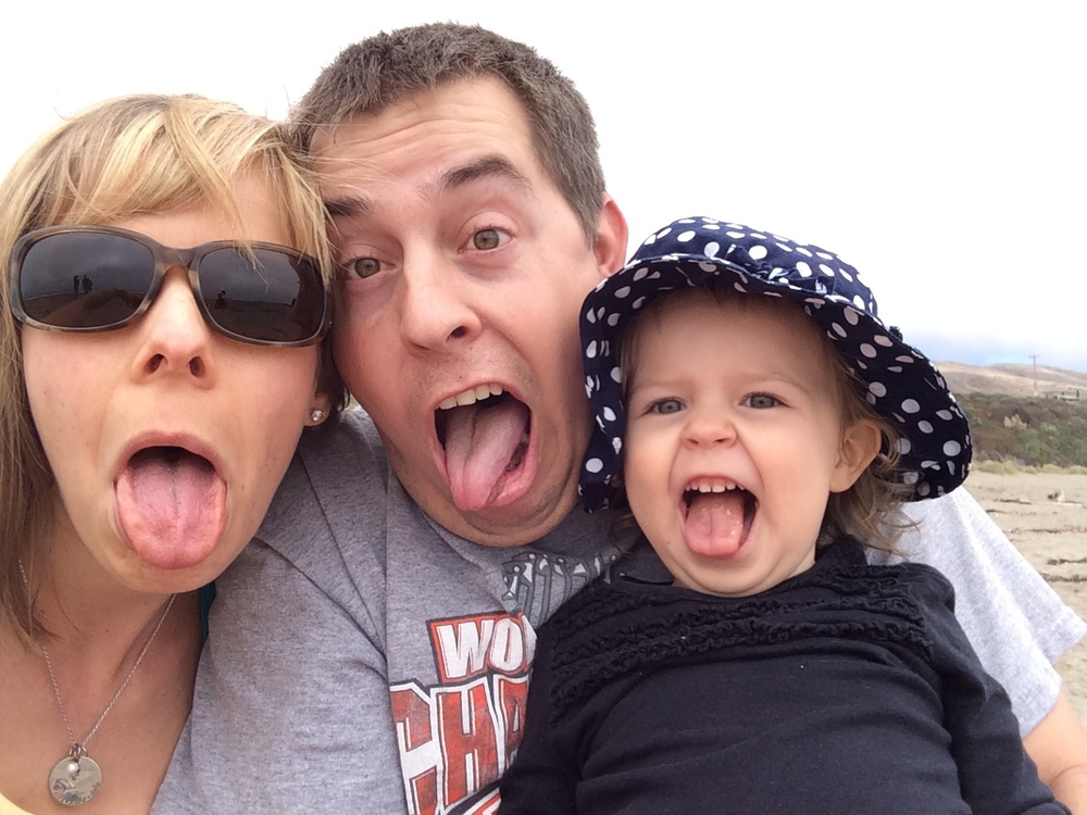 My silly family!