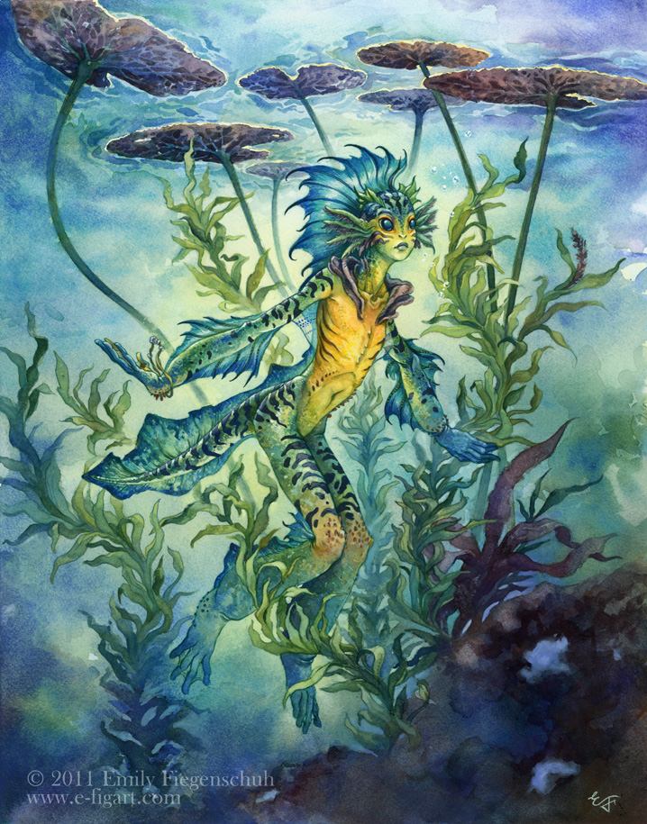 The Painted Marsh Nymph