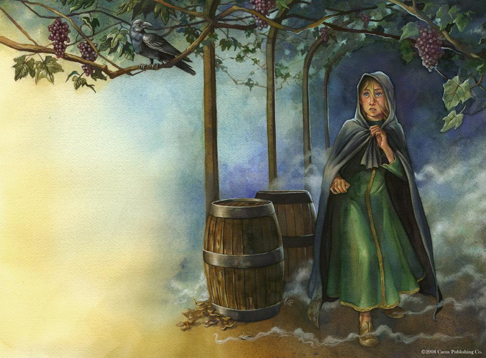 In the Grape Arbor