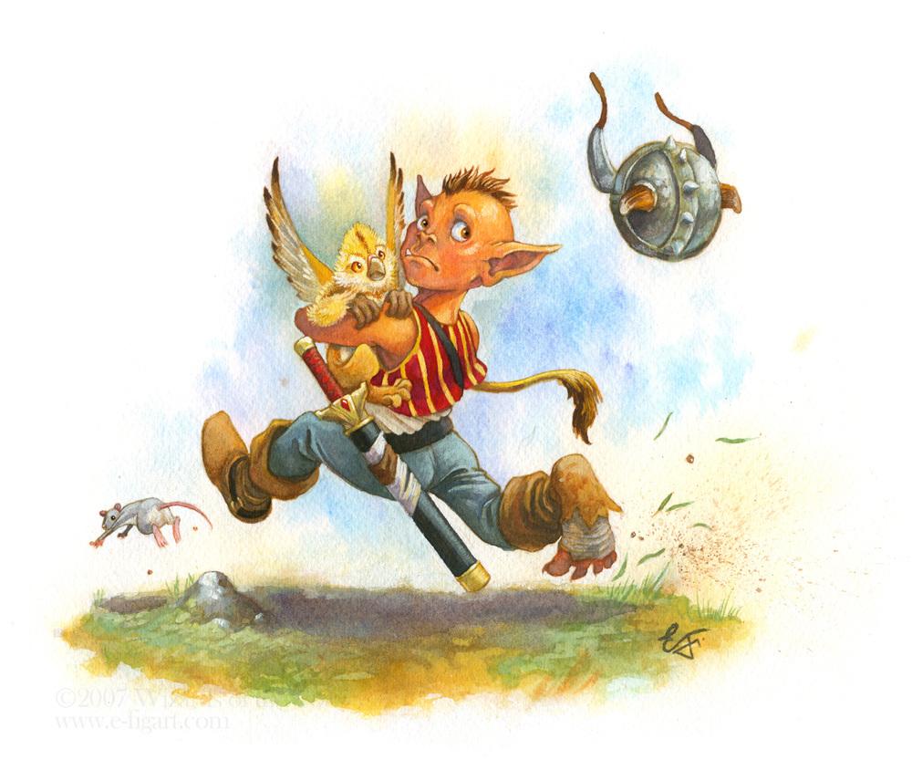Goblin Kid on the Run