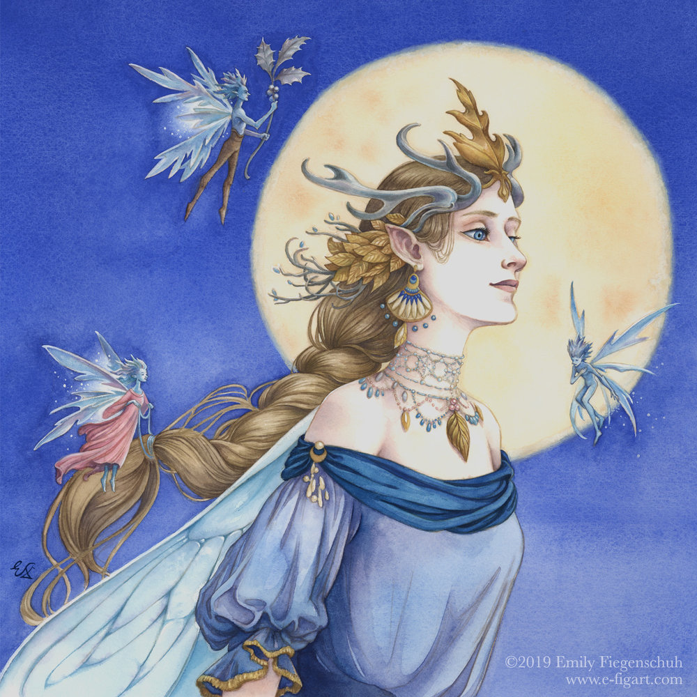 The Faery Queen of Moonlight