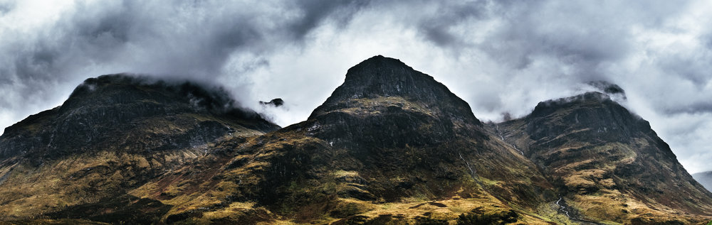 Glencoe, The Three Sisters