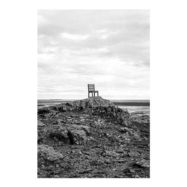 Well, if you haven't heard, I am back in good ol' Pennsylvania for now. Feels a bit like vacationing in purgatory. To exemplify how strange my life is right now, here's a giant chair @underthehickory and I found on the side of the road in Iceland. #leica #kodak #film #iceland