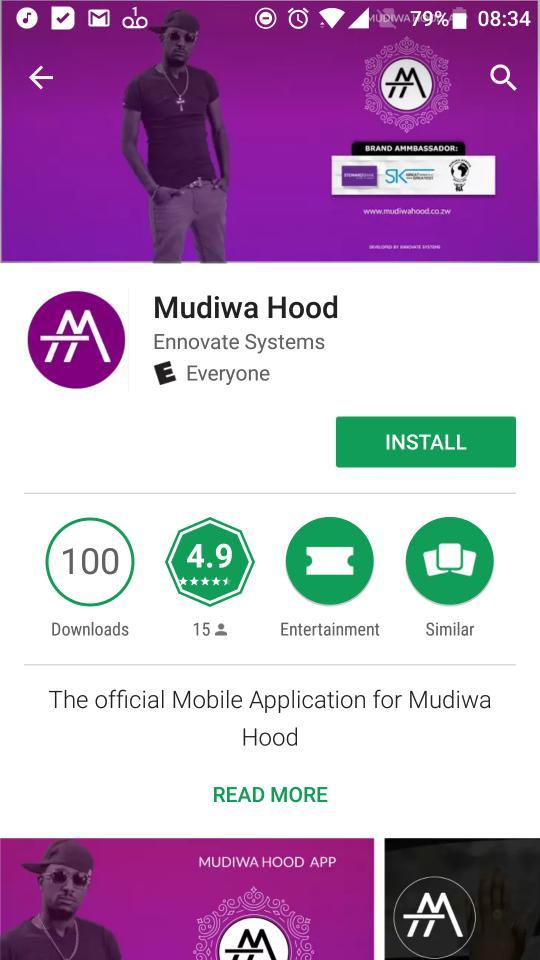 Mudiwa Hood app