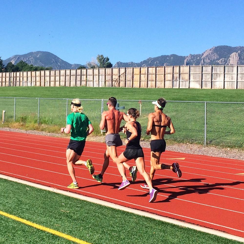 Back running!!