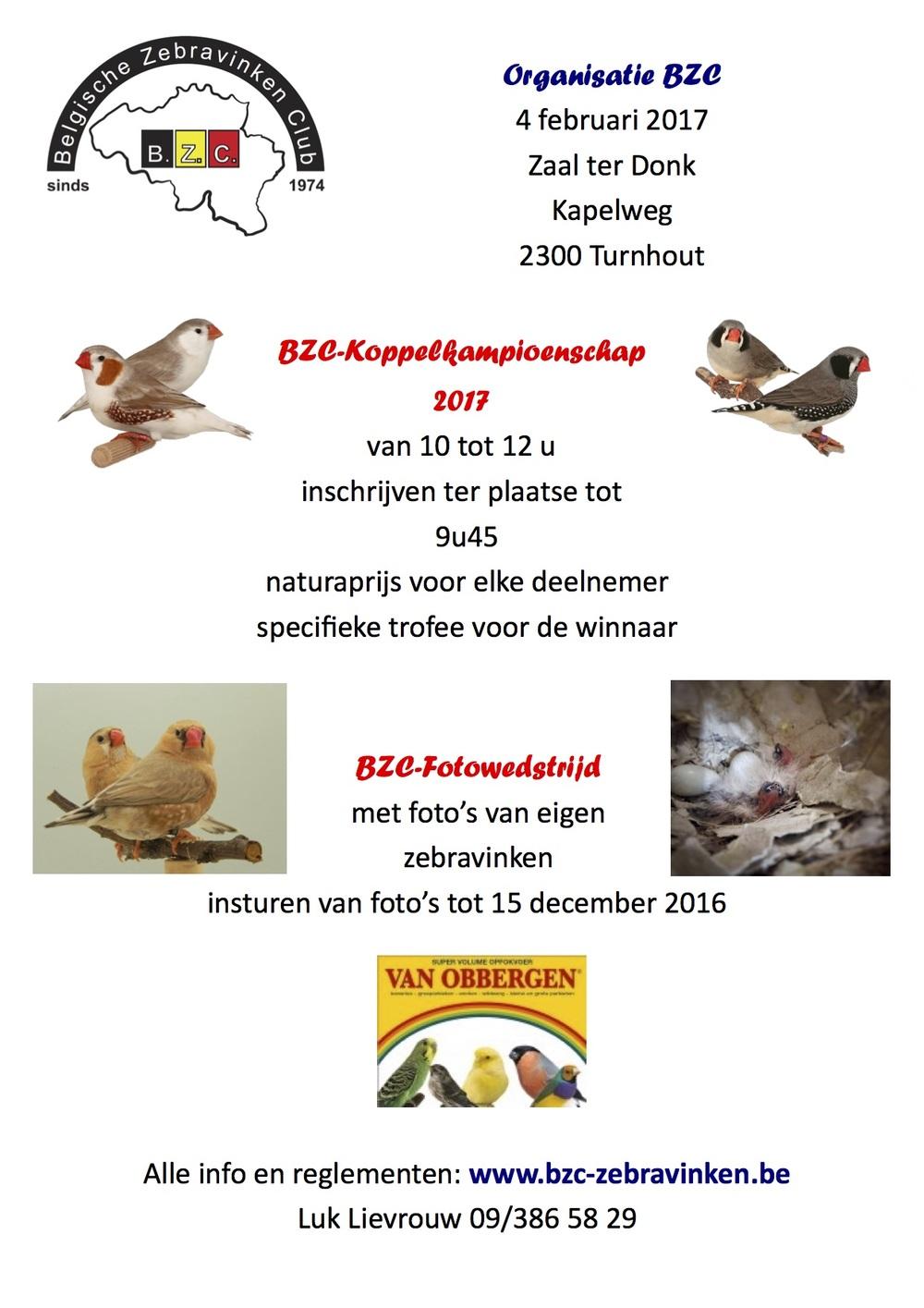 BZC Algemene vergadering met koppelshow en fotowedstrijd