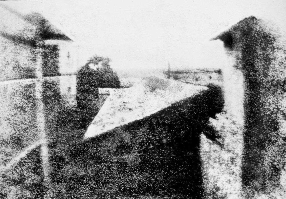 Point de vue du Gras    / Joseph Nicéphore Niépce