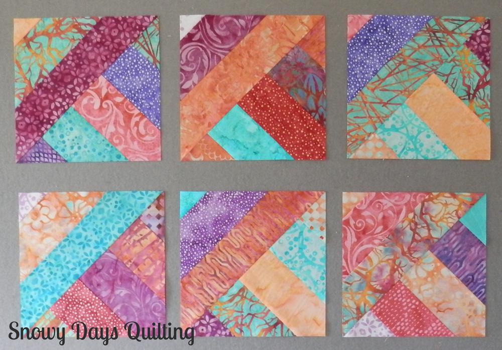 3 Dudes Quilt blocks
