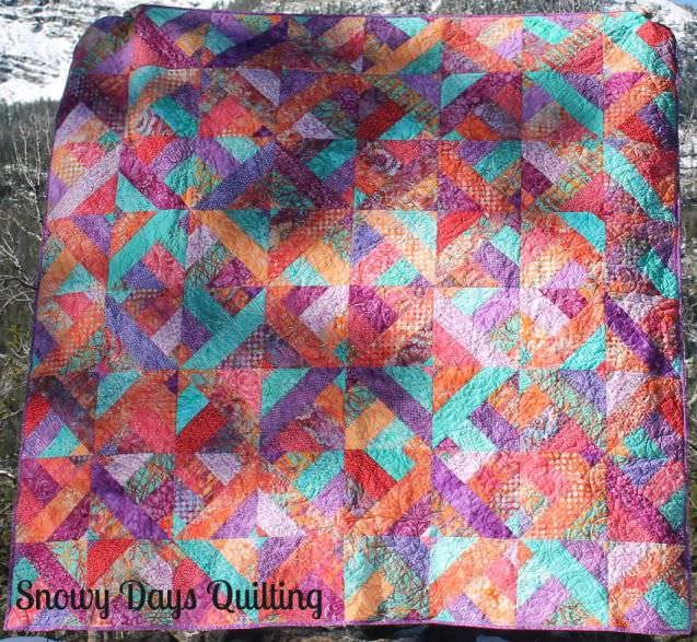 Finished Projects — Snowy Days Quilting : three dudes jelly roll quilt - Adamdwight.com