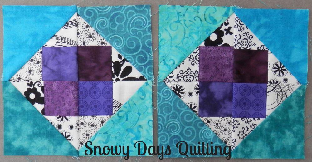 diamond quilt blocks