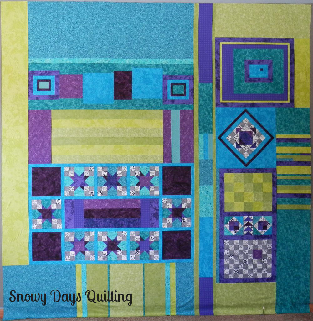 pieced quilt back for easy street mystery quilt by bonnie hunter