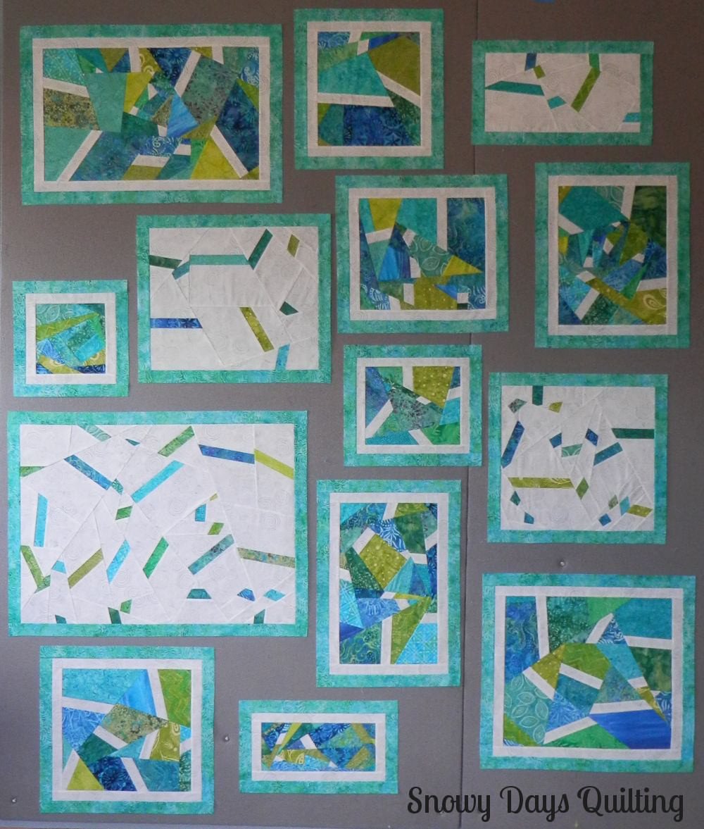 scrappy improv quilt blocks