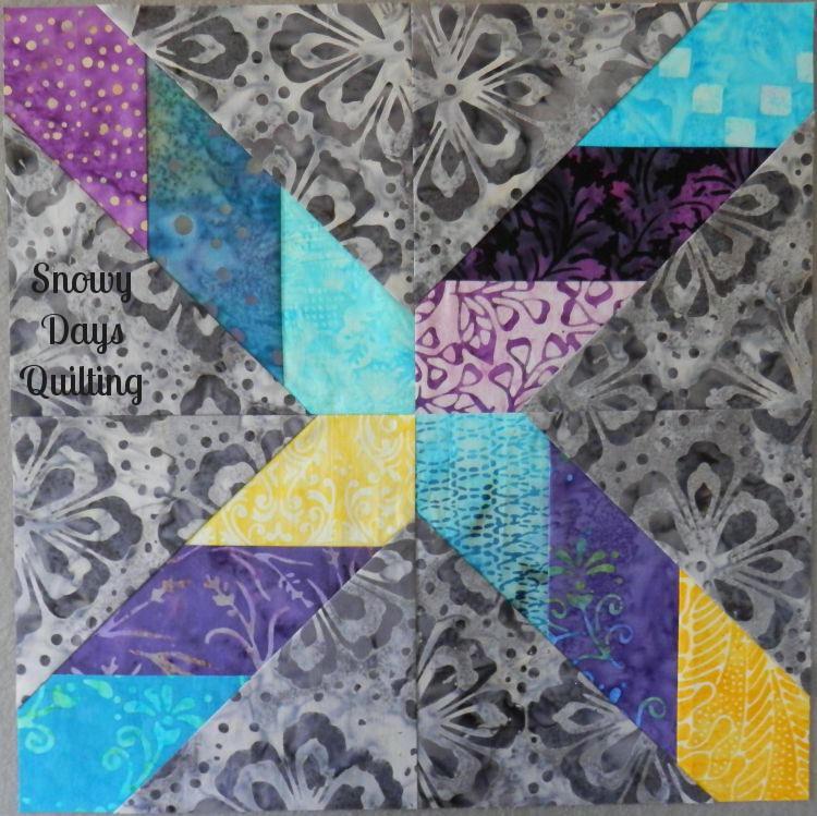 Serendipity quilt block