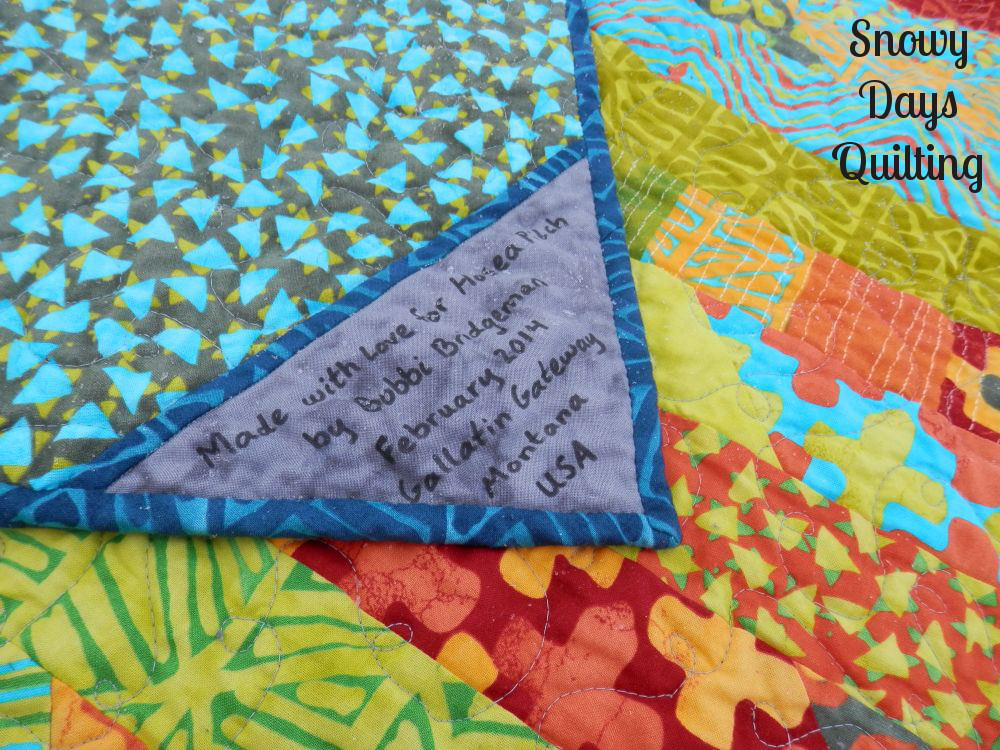 jelly roll race quilt simple marks summer Malka Dubrawsky
