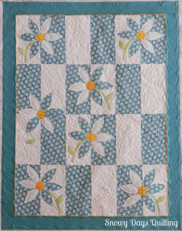 Crazy Daisy — Snowy Days Quilting : daisy quilts - Adamdwight.com