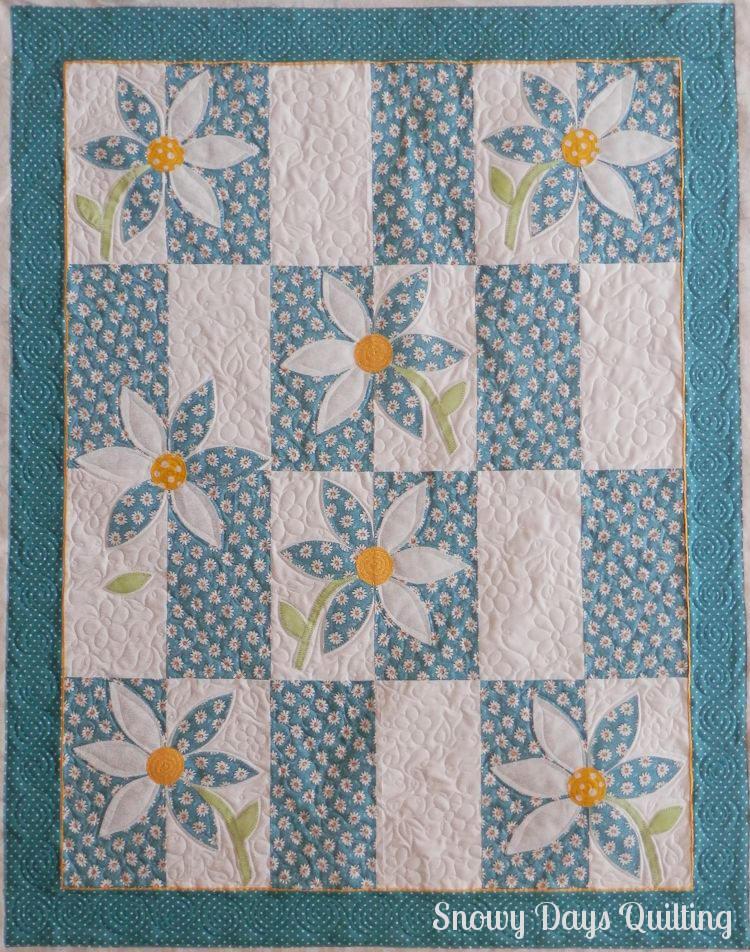 craisy daisy wallflower quilt