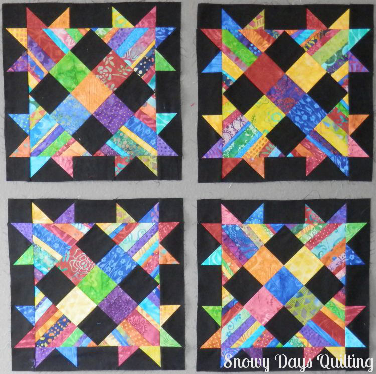 Talkin' Turkey quilt blocks