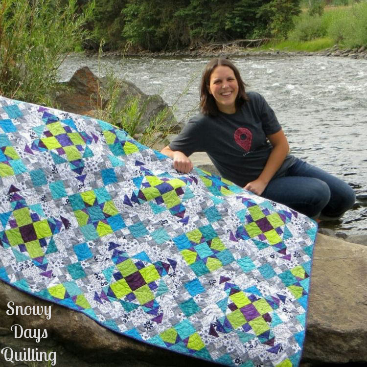 Bobbi Bridgeman on Easy Street quilt