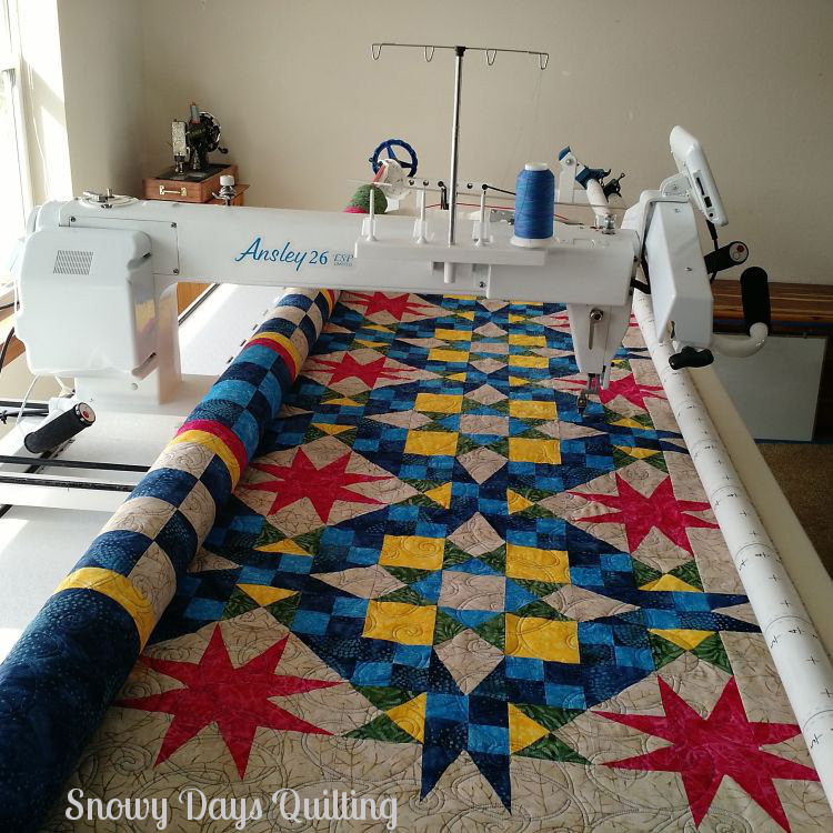 TinLizzie18 longarm quilting machine