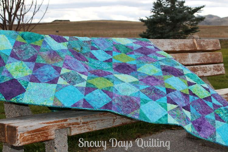 Gemstones quilt