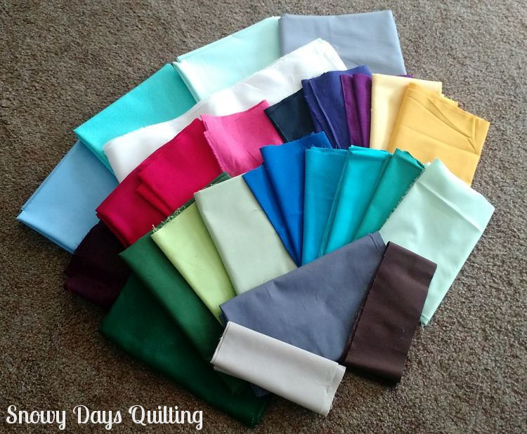 I Wish You a Merry Quilt-A-Long fabric choices