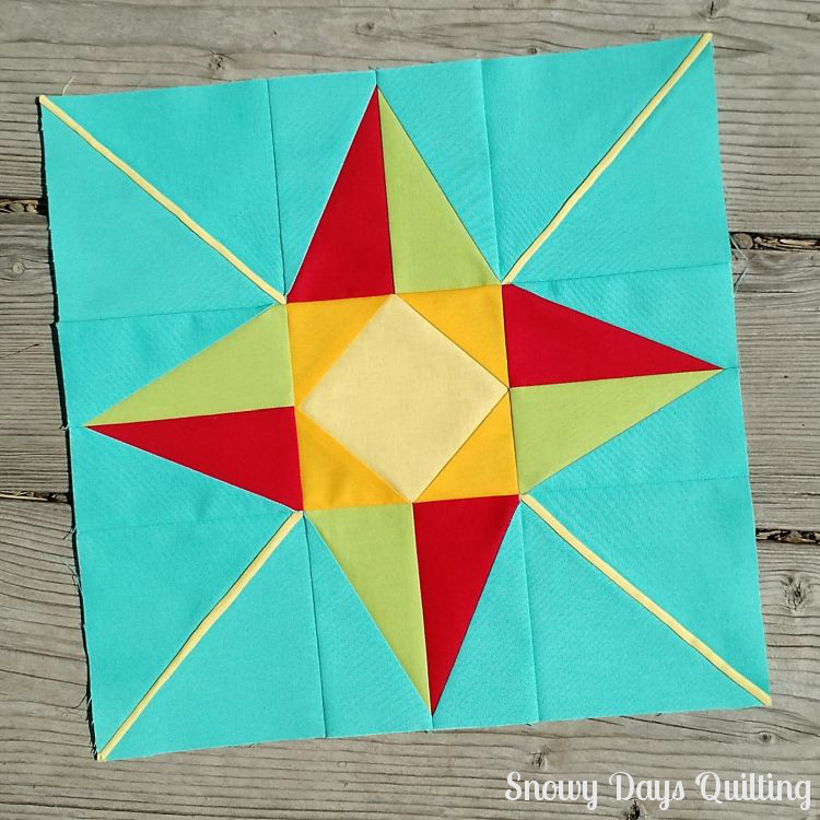 I Wish You a Merry Quilt-A-Long: North Star — Snowy Days Quilting : north star quilt block - Adamdwight.com