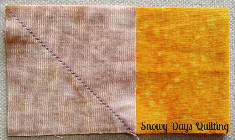 stitch and flip corners