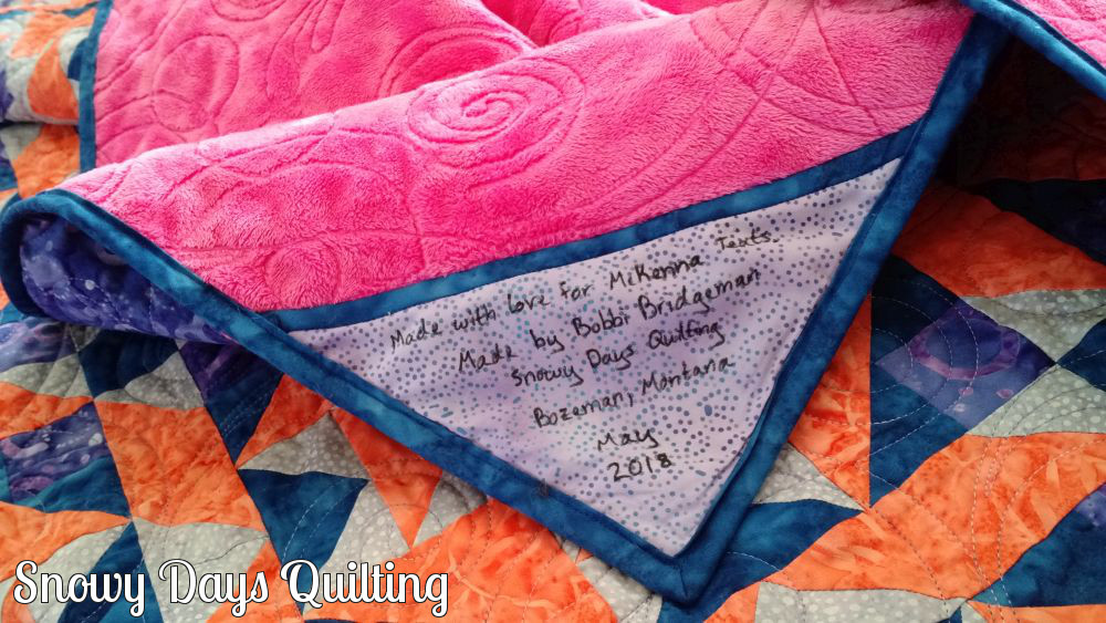On Ringo Lake quilt