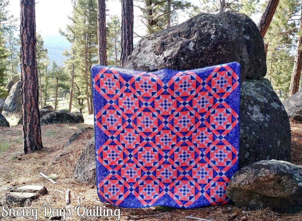 On Ringo Lake quilt
