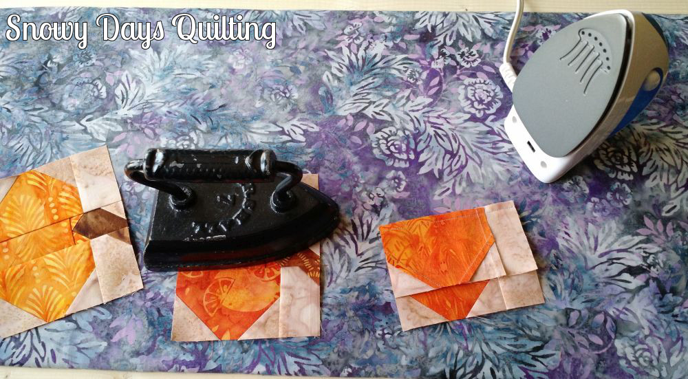 sad iron for quilting