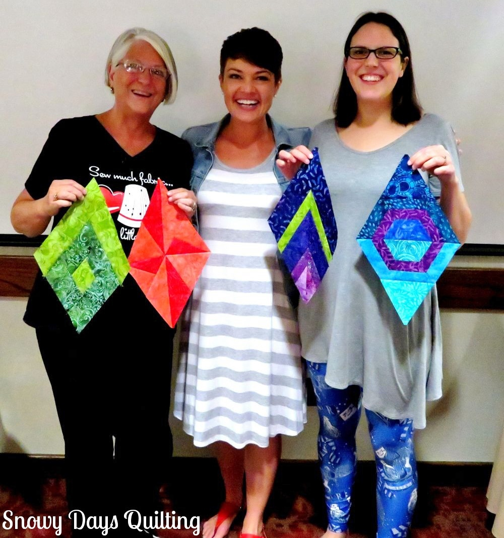 quilt class with Krista Moser