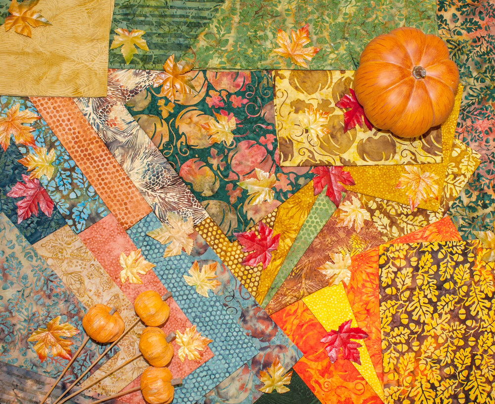 Island Batik Pumpkin Patch