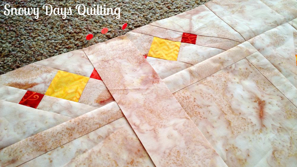 sampler quilt diamond setting tutorial