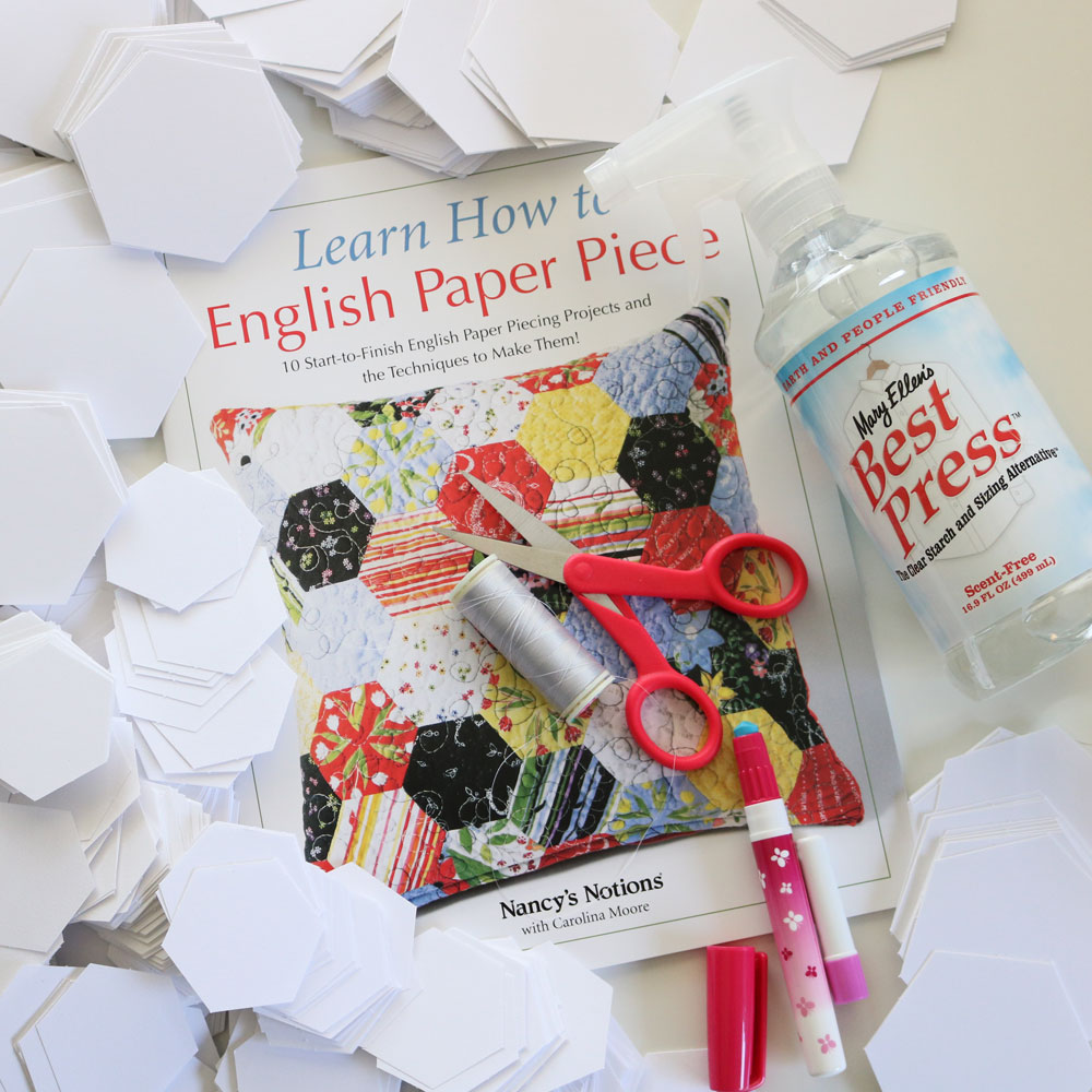 learn how to english paper piece instagram giveaway