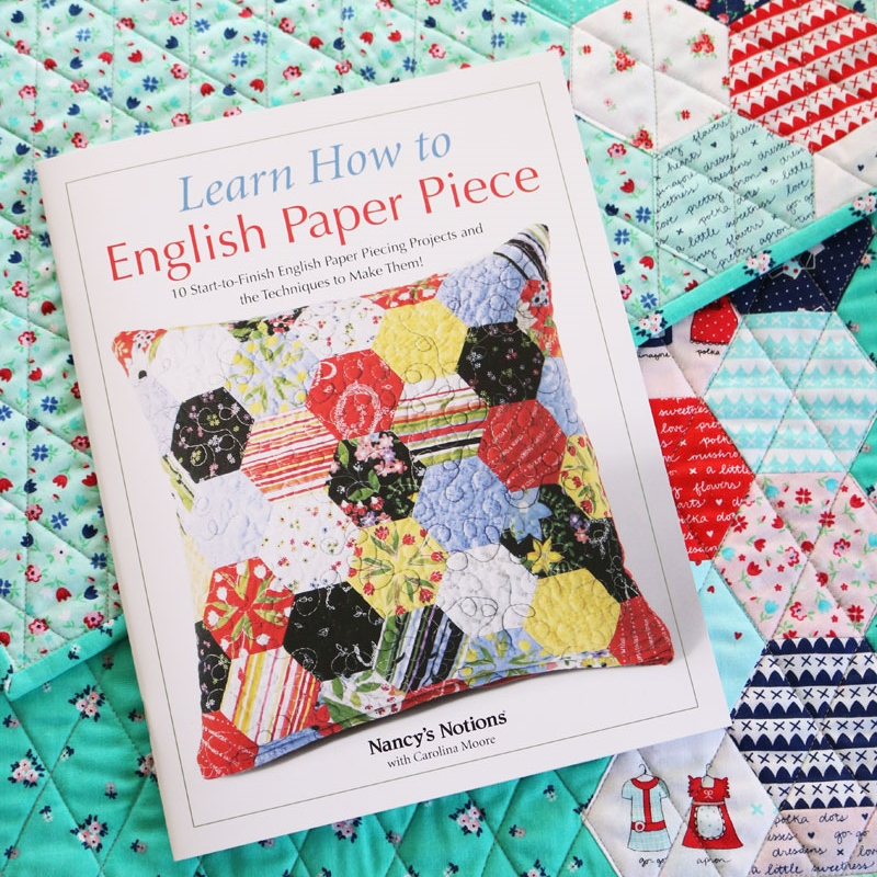 learn how to english paper piece by carolina moore