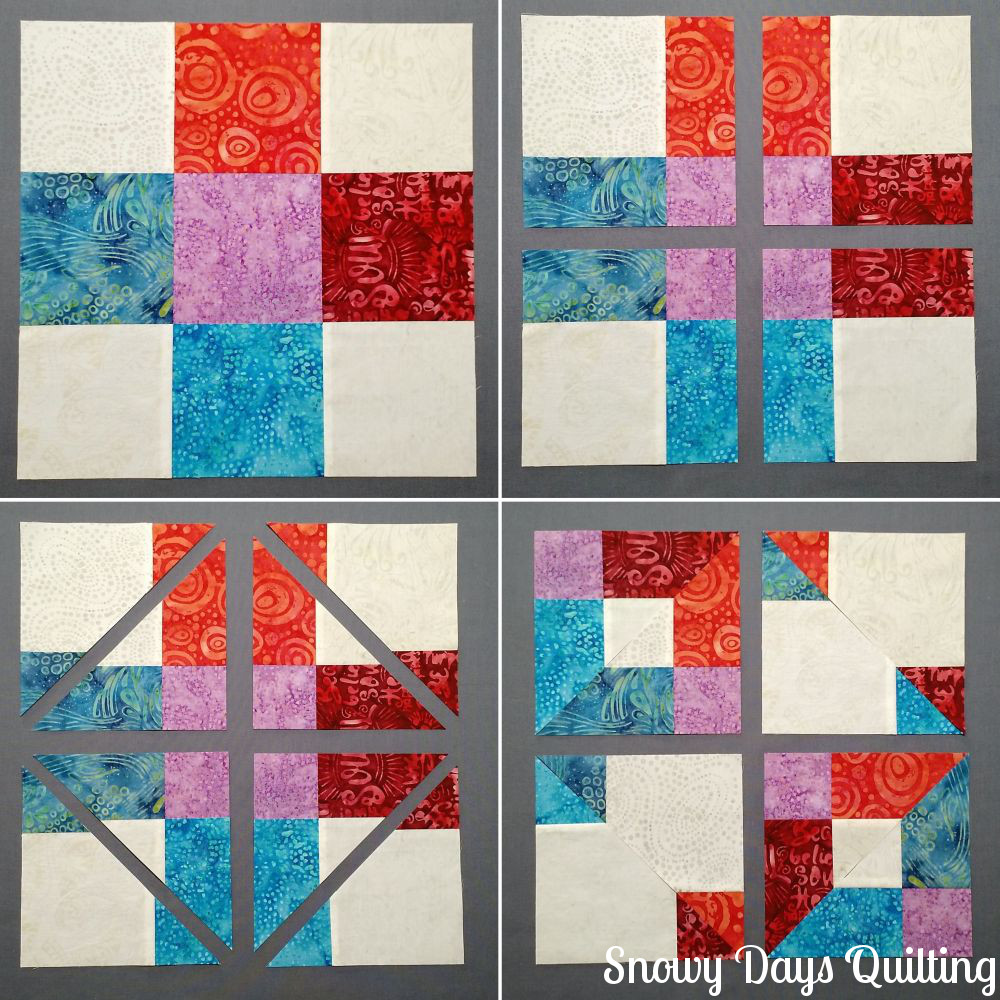 stepping stones quilt turnabout patchwork book soul song batiks
