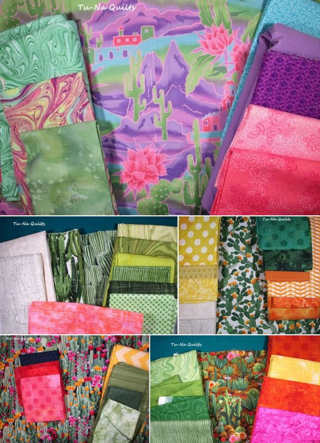 SewLetsQAL fabric pull Tu-Na Quilts, Travels, and Eats