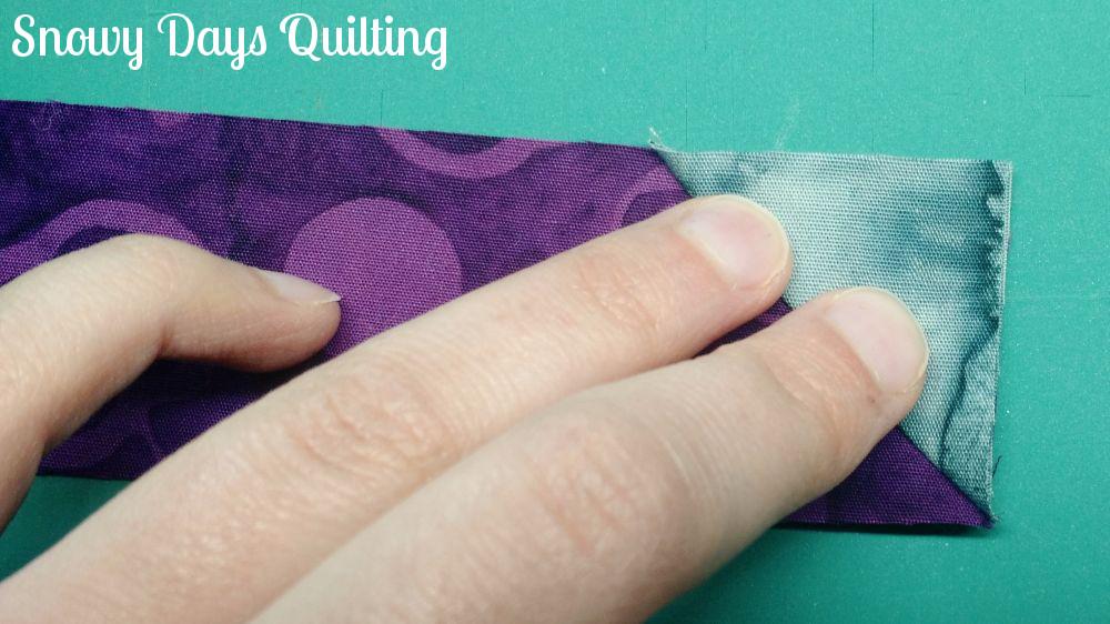 perfect stitch and flip corners