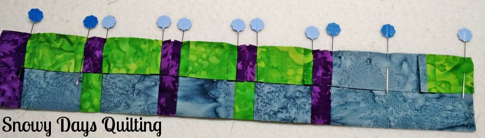 tips for working with small quilt pieces