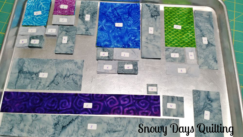 staying organized while quilting