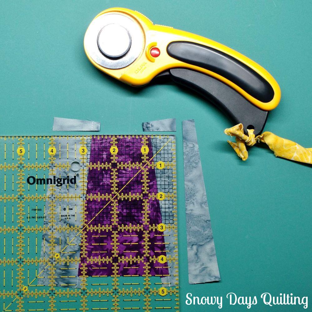 tutorial for cone of thread quilt block