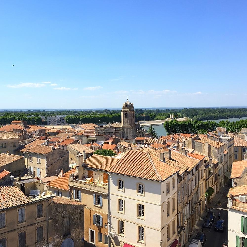 Admirez cette vue magnifique des Arenes d'Arles