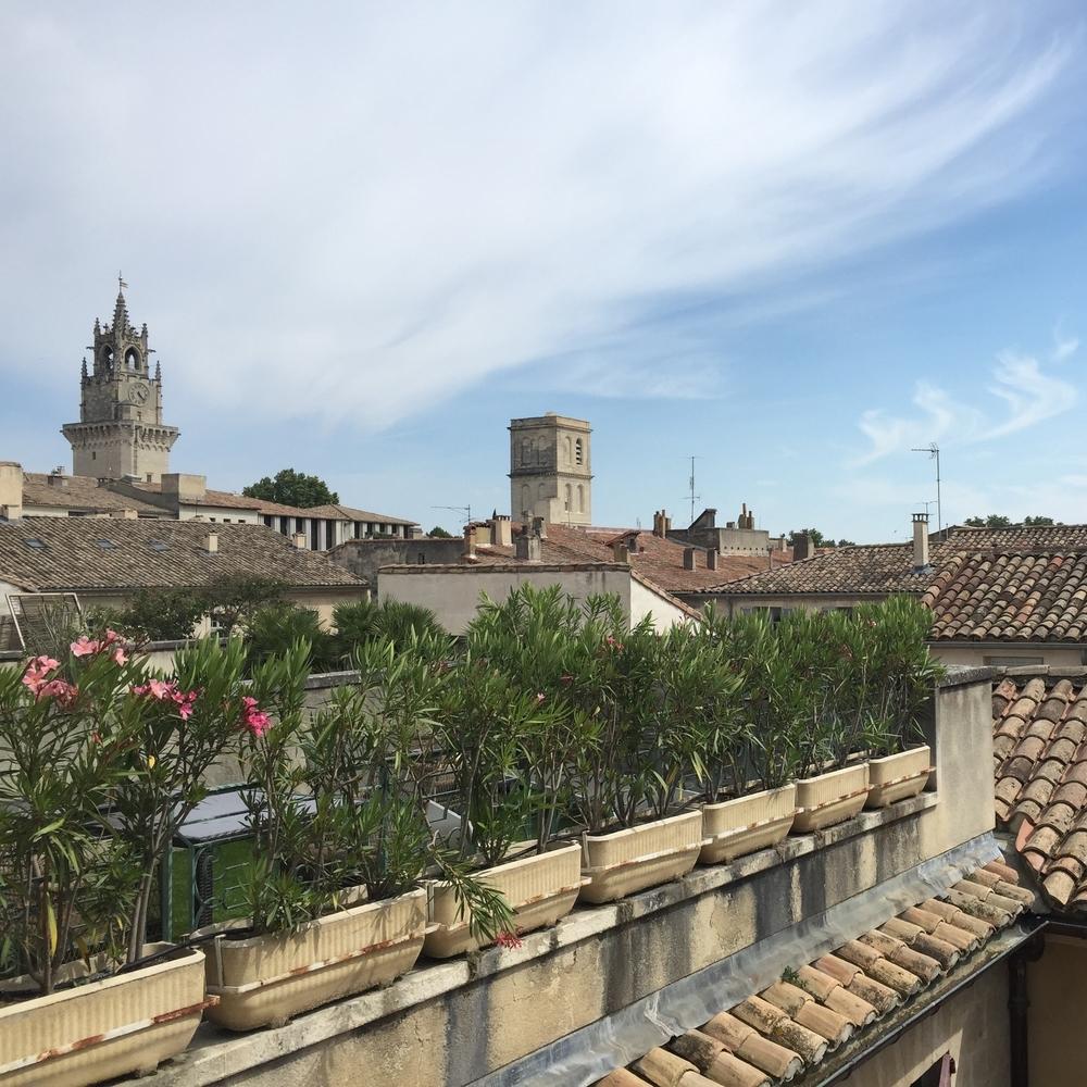 Premiere terrasse de l'Hotel d'Europe