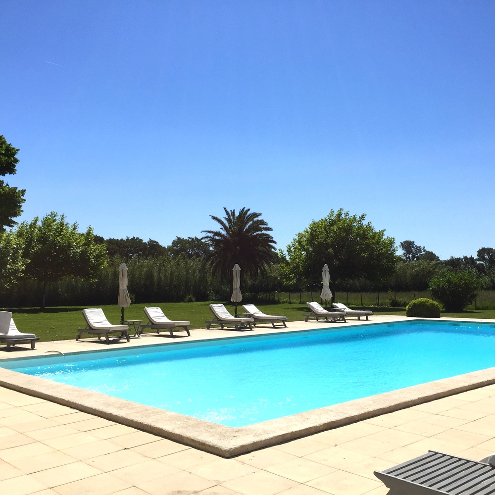 Superbe piscine en pleine nature