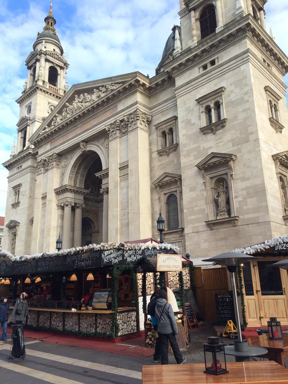 La basilique St Stephen
